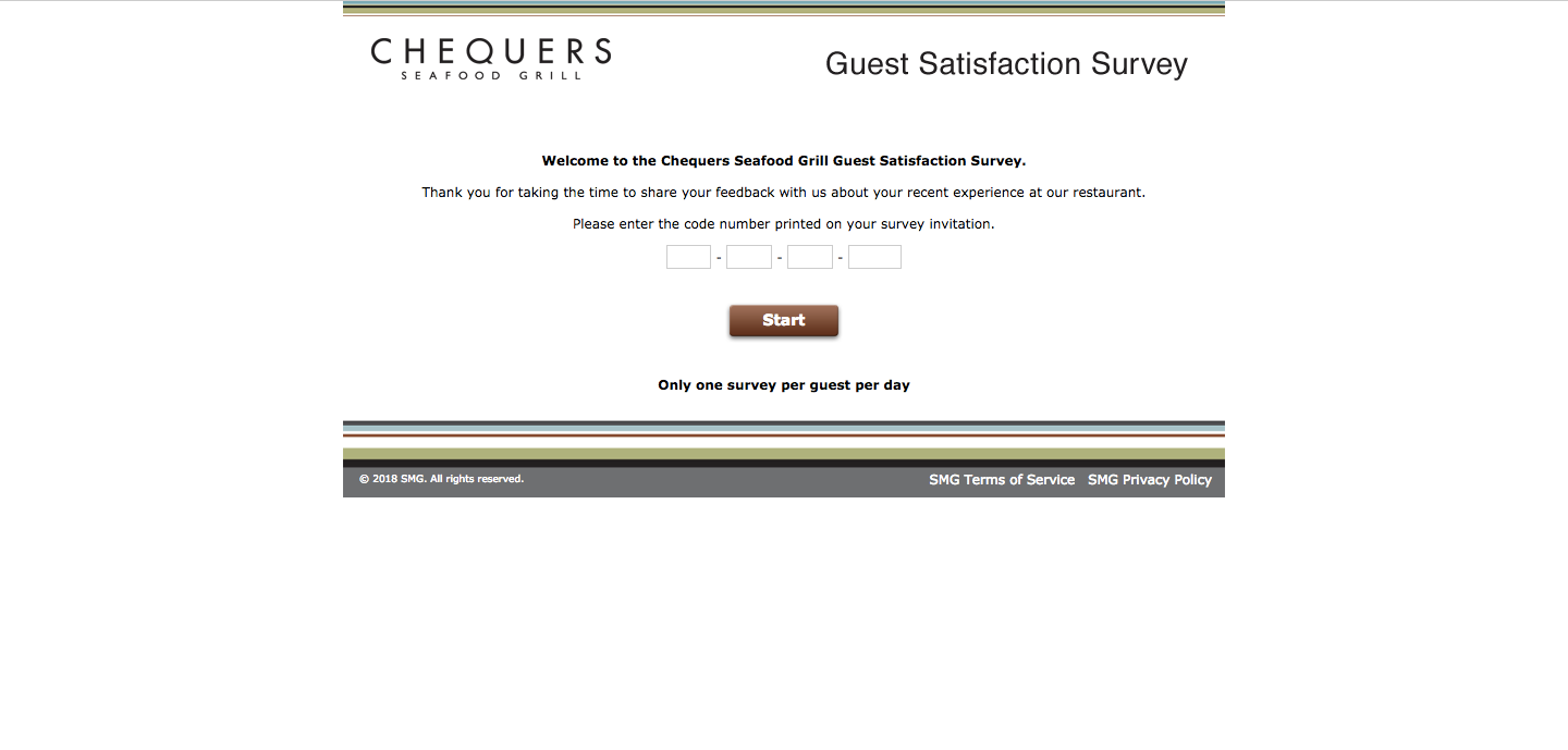 Chequers Survey