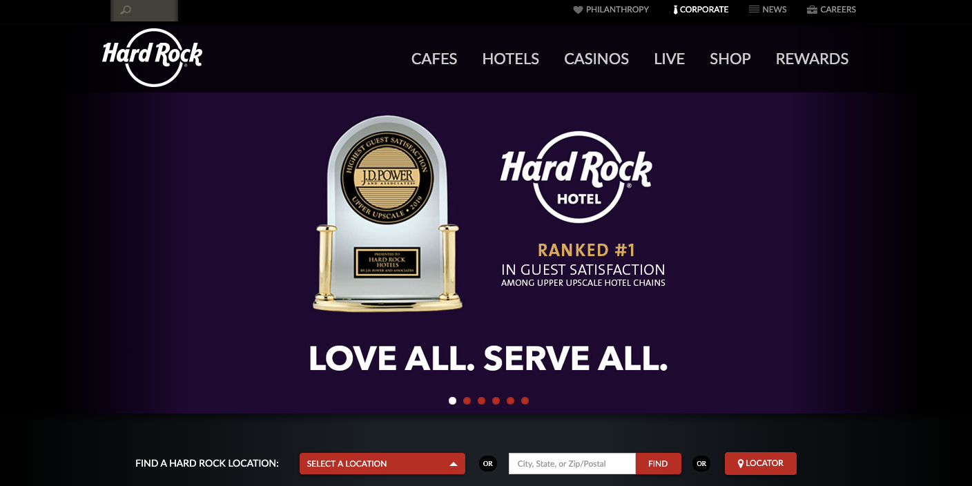 Hard Rock Café Guest Satisfaction Survey