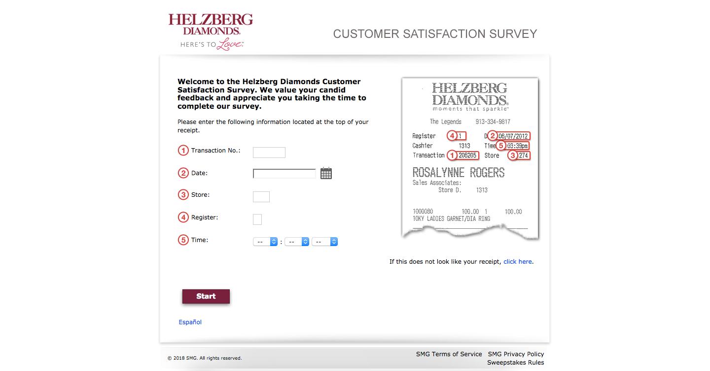 Helzberg Diamonds Customer Satisfaction Survey