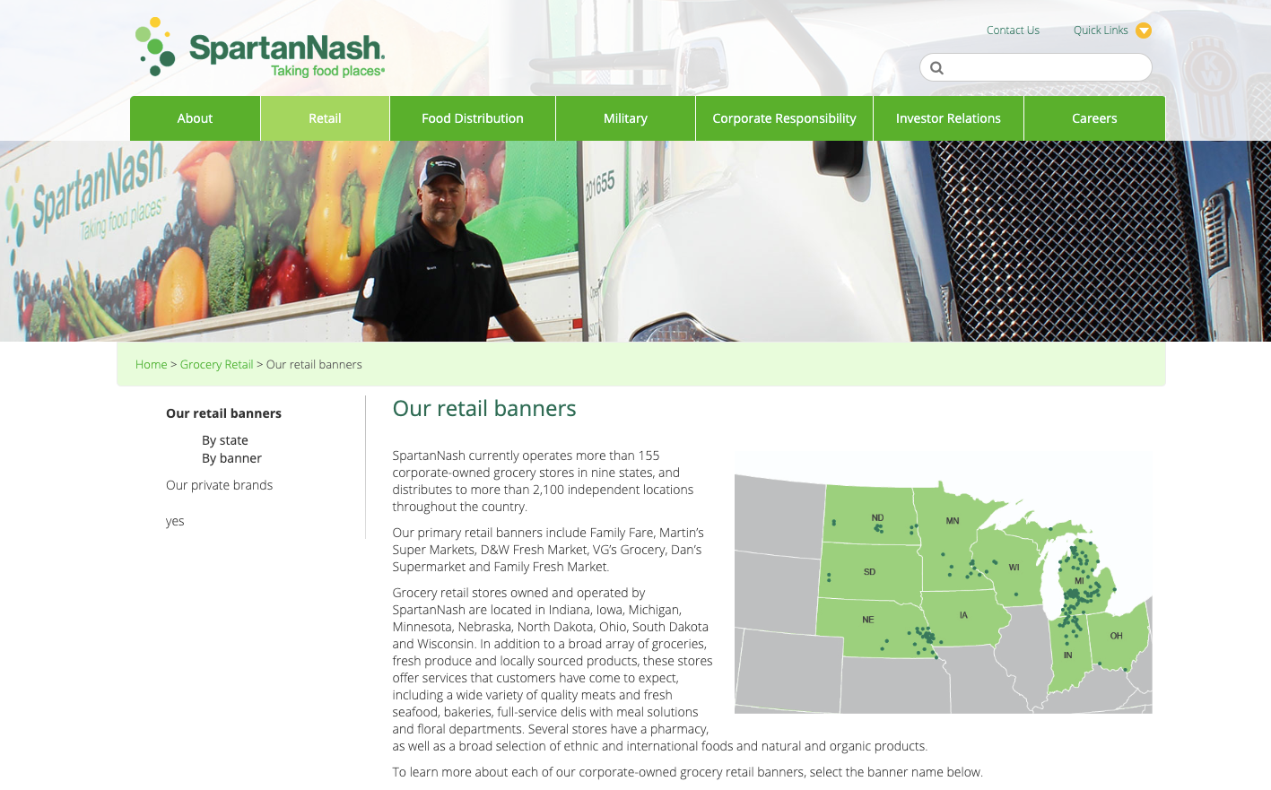SpartanNash Family Stores Customer Survey