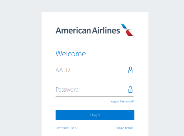 American Airlines Login
