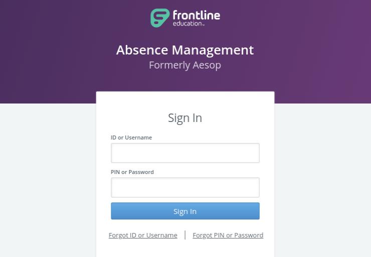 Frontline Login
